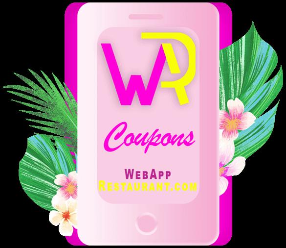 Website Design Restaurant WebAppRestaurant Create Coupons