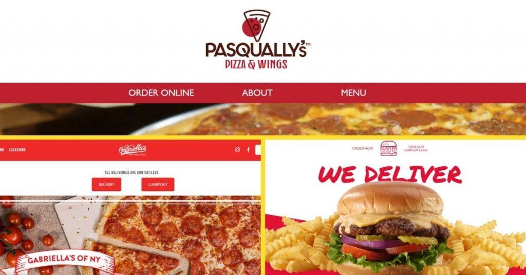 virtual restaurant websites